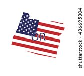 usa state | Shutterstock .eps vector #436695304