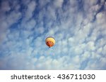 Colorful Balloon On The Blue...