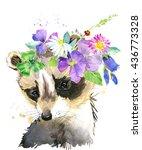 Cute Raccoon. Raccoon....