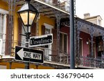 street signs and architecture... | Shutterstock . vector #436790404