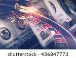 casino games roulette concept....