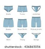 Male Underwear Types Flat...