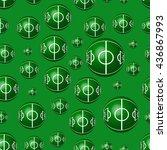 geometric seamless pattern to... | Shutterstock . vector #436867993