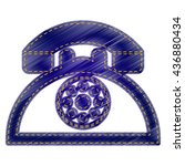retro telephone sign