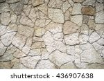 texture of stone wall for... | Shutterstock . vector #436907638