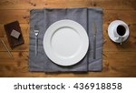dish | Shutterstock . vector #436918858