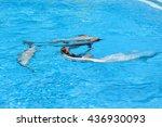 zoomarine portugal   june 4 ... | Shutterstock . vector #436930093