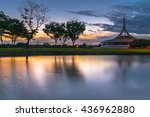 long exposure and soft focus on ... | Shutterstock . vector #436962880