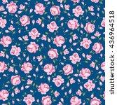 flower seamless pattern vector. ...