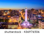 baltimore  maryland  usa... | Shutterstock . vector #436976506