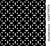 vector seamless pattern with... | Shutterstock .eps vector #436979974
