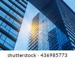 modern glass building | Shutterstock . vector #436985773