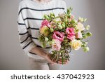Rich Bunch Of Pink Eustoma And...
