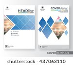 abstract business and corporate ... | Shutterstock .eps vector #437063110