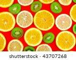 Background Texture Fruit Mix  ...