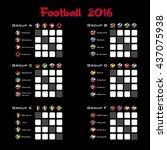 football championship 2016....   Shutterstock .eps vector #437075938