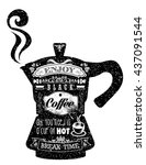 Vintage Style Cafe Menu With...