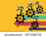 vector business for ideas. the... | Shutterstock .eps vector #437108734