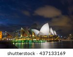 sydney  australia   april 22 ... | Shutterstock . vector #437133169
