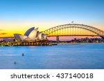 sydney  australia   april 22 ... | Shutterstock . vector #437140018
