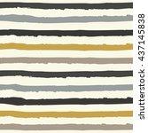 hand drawn striped pattern...   Shutterstock .eps vector #437145838