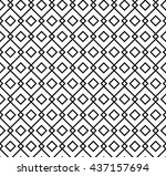 islamic pattern seamless... | Shutterstock .eps vector #437157694