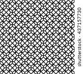 islamic pattern seamless...   Shutterstock .eps vector #437157730