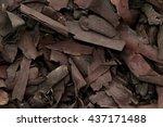 Small photo of Organic dry barks of Ratan Jot (Alkanna tinctoria) Macro close up background texture. Macro close up. Top view.