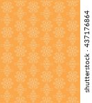 vector seamless pattern with...   Shutterstock .eps vector #437176864