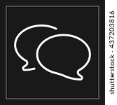 chat bubble icon.