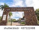 ribeirao preto city park  aka... | Shutterstock . vector #437222488