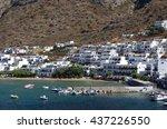 kamares village  sifnos island  ... | Shutterstock . vector #437226550