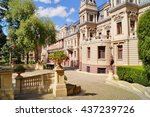 palace in neo baroque style of... | Shutterstock . vector #437239726
