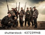 Hunters Standing Together...