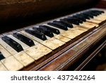 Dirty Dusty Antique Piano In...