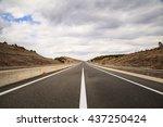 Empty Highway.   Highway...
