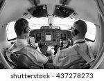 italy  ciampino airport  rome   ... | Shutterstock . vector #437278273