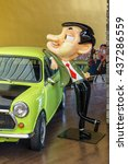 bangkok  jul 5   mr.bean and... | Shutterstock . vector #437286559