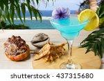Blue Hawaiian Cocktail On The...