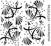 abstract decorative wallpaper.... | Shutterstock .eps vector #437370766
