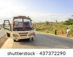 mombasa kenya   september 8... | Shutterstock . vector #437372290
