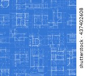 Creative architectural blueprint background vector 08 free download architectural blueprints set of technical drawings on blue background seamless pattern vector illustration malvernweather Choice Image