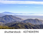 a view of big bear and san... | Shutterstock . vector #437404594