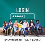log in interface password...