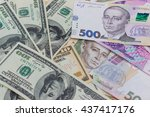 banknotes  clear image of... | Shutterstock . vector #437417176