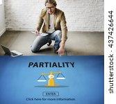 Small photo of Partiality Prejudice Unfairness Help Victims Bias Concept
