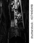 Small photo of Dark alley
