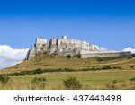 Panoramic View Of Spis Castle ...