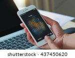 bangkok  thailand   june 12 ...   Shutterstock . vector #437450620