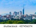 stunnning view from maizuru... | Shutterstock . vector #437456374